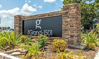 Community Signage, The Grand 1501 Apartments, 0