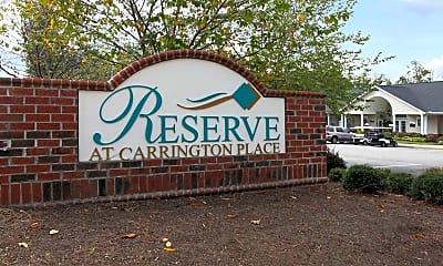 Community Signage, Reserve at Carrington Place, 2