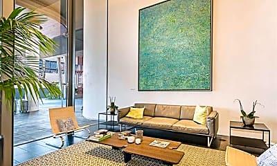 Living Room, 1001 Queen St 2410, 2