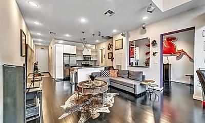 Living Room, 207 Pierce St 307, 0