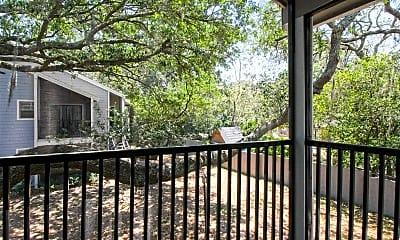 Patio / Deck, Oak Ramble Apartments, 2