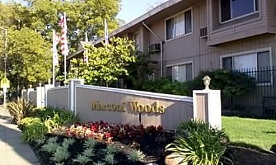 Building, Marconi Woods Apartments, 2