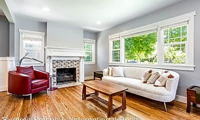 Living Room, 1363 Kensington Ave, 1