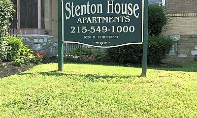 Stenton House Apartments, 1