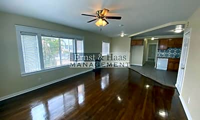 Living Room, 4021 E 1st St, 1