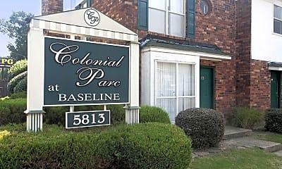Community Signage, Colonial Parc Apartments, 1
