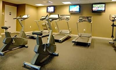 Fitness Weight Room, Lotus Square, 2