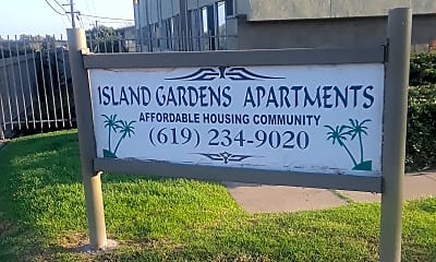 Island Gardens Apartments, 1