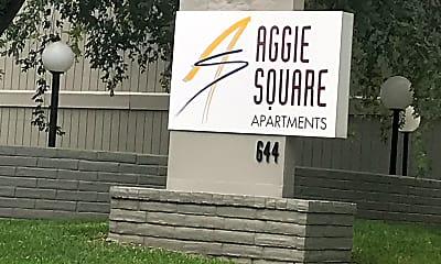 Aggie Square Apartments, 1