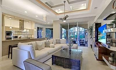 Living Room, 9581 Monteverdi Way, 1