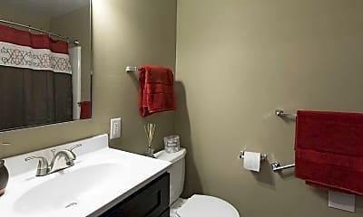 Bathroom, Miracle Terrace Senior Apartment Homes, 2