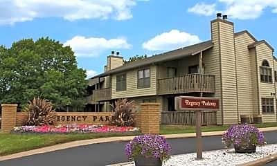 Building, Regency Park Apartments, 1