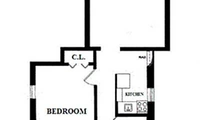 Bathroom, 311 E 25th St, 2