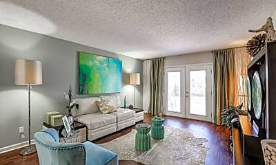 Living Room, Cypress Winds Apartment Homes, 0