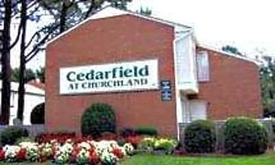 Building, Cedarfield At Churchland, 1