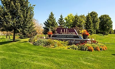 Community Signage, The Addison, 2