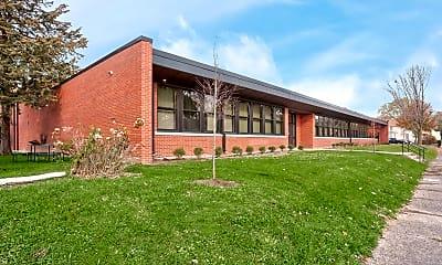 Building, Garfield School, 1