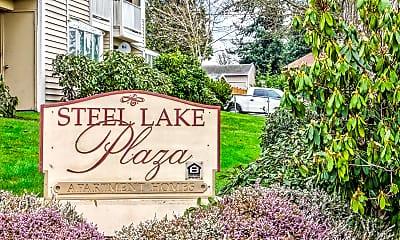 Community Signage, Steel Lake Plaza, 2