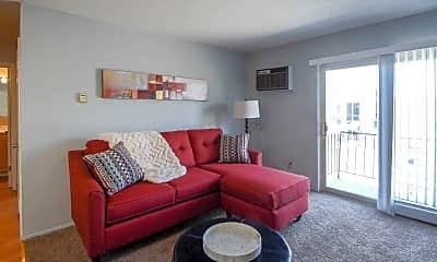 Living Room, Kensington Court, 1