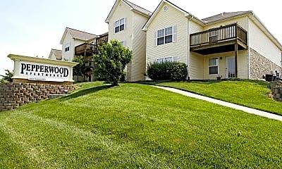 Community Signage, Pepperwood Apartments, 0
