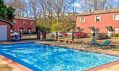 Pool, Oak Grove Apartments, 0