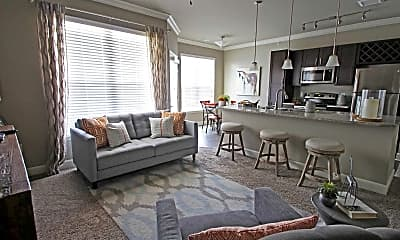 Living Room, Brookview at Apex, 1