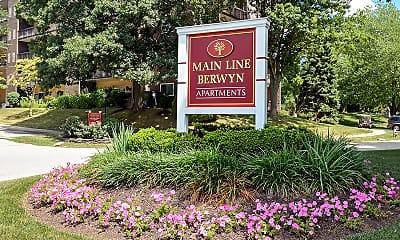 Community Signage, Main Line-Berwyn, 0