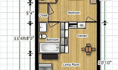 Building, 3027 Adams Blvd, 2