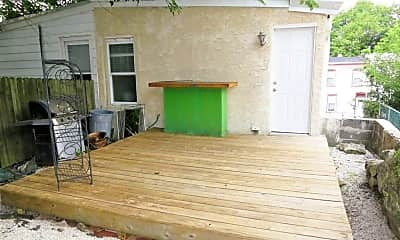 Patio / Deck, 4707 Mansion St, 2
