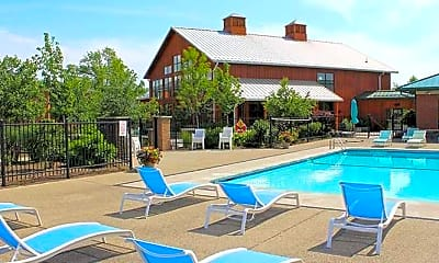 Pool, Collegiate Village, 2