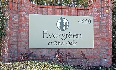 Community Signage, Evergreen at River Oaks, 2
