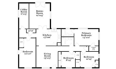 Building, 617 Big River Run, 1