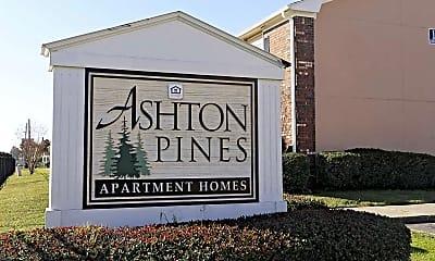 Community Signage, Ashton Pines, 2