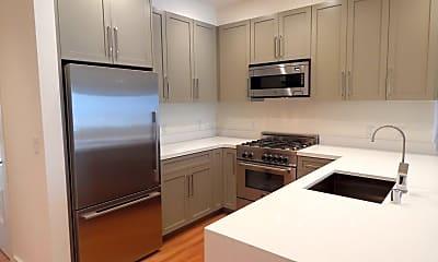 Kitchen, 5 Hallam St, 1