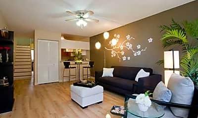 Living Room, Waena Apartments, 1