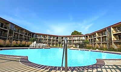 Pool, Courtyard Apartments, 2