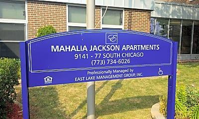 Mahalia Jackson Apartments, 1