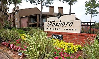 Community Signage, Foxboro Apartment Homes, 2