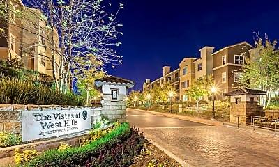 Community Signage, The Vistas of West Hills, 1