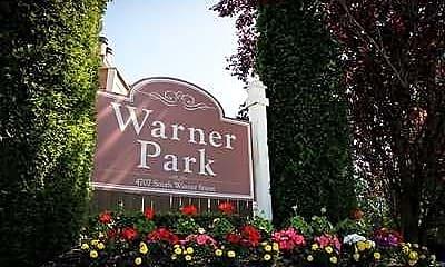 Landscaping, Warner Park, 0