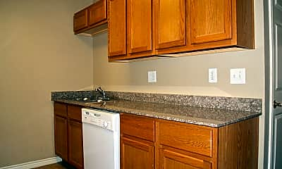 Kitchen, Virginia Estates Apartments, 1