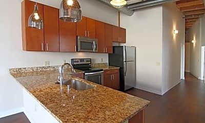 Kitchen, Chicago Street Lofts, 0