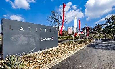 Community Signage, Latitude, 1