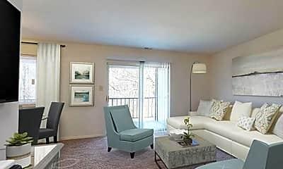 Living Room, 1000 Carroll Ave, 1
