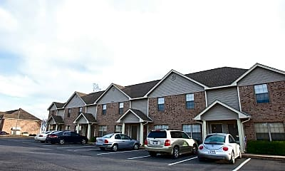Building, Brentwood Apartments, 2