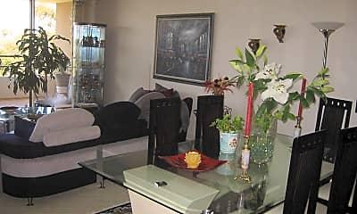 Living Room, 4265 marina city dr., 0