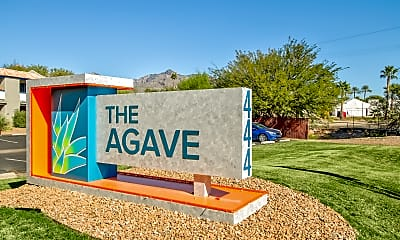 Community Signage, The Agave Apartments, 2
