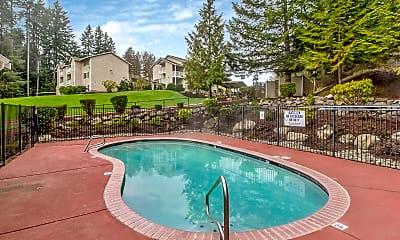 Pool, Griffin Glen II Apartments, 2
