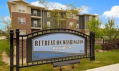 Community Signage, Retreat on Washington, 2