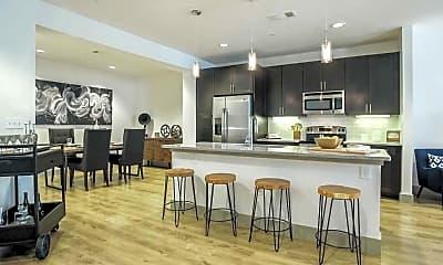 Kitchen, Loft + Row, 1